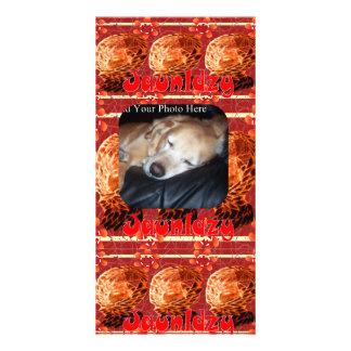 Jaunldzy Custom Photo Card