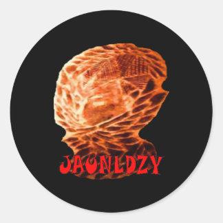 Jaunldzy Classic Round Sticker