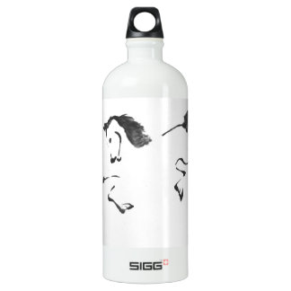 Jaunt - Horse Sumi-e Painting Aluminum Water Bottle