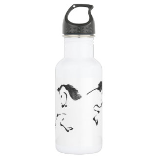 Jaunt - Horse Sumi-e Painting Water Bottle