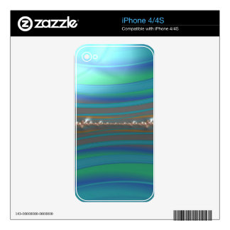 jauntier ivy fractal decal for the iPhone 4
