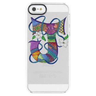 """Jaunty J"" Monogrammed iPhone Case"