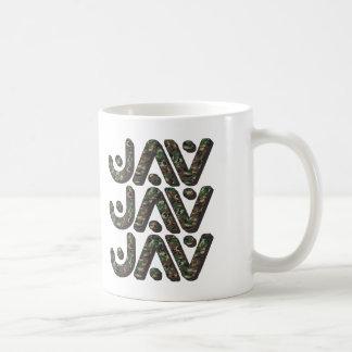 JAV - I Love Watching Japanese Adult Videos, Camo Coffee Mug
