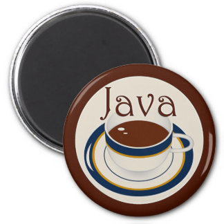Java 2 Inch Round Magnet