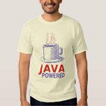 Java accionó remera