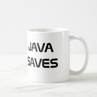Java ahorra la taza de café