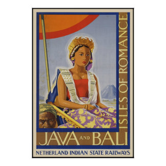 Java and Bali Isles of Romance Poster