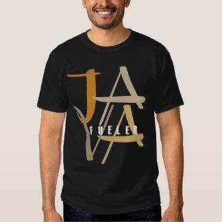 Java aprovisionó de combustible la camiseta oscura remeras