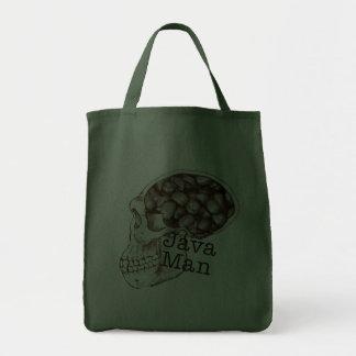 Java Bean Man Canvas Bags
