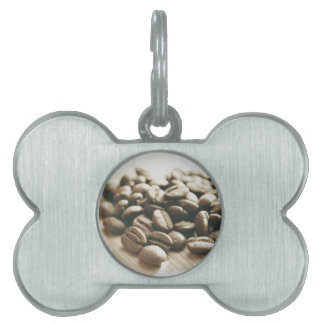 Java beans! pet name tag