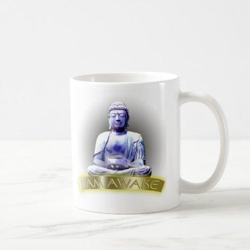 Java Buddha Classic White Coffee Mug