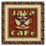 Java Cafe Coffee Clock