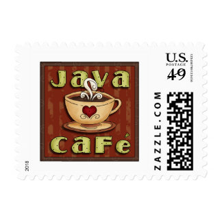 java cafe stamps
