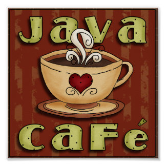 Java Cafe Poster