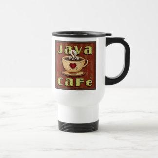 Java Cafe Travel Mug