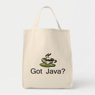 Java conseguida bolsas