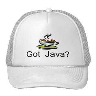 ¿Java conseguida? Gorra