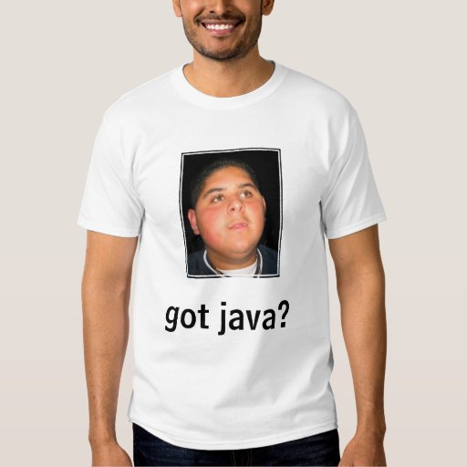 ¿Java conseguida? Playera