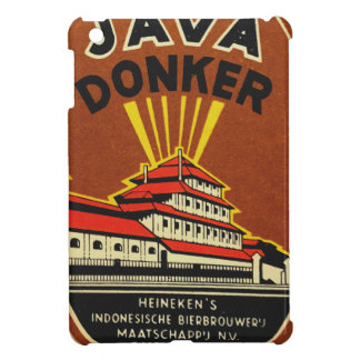 Java Donker vintage beer label Case For The iPad Mini