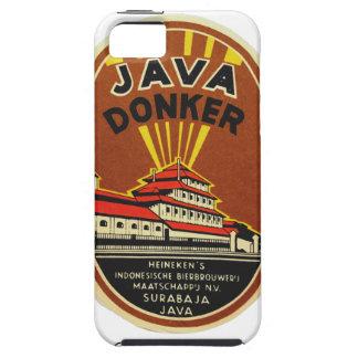 Java Donker vintage beer label iPhone SE/5/5s Case