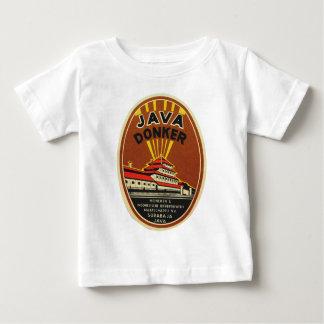 Java Donker vintage beer label T Shirt