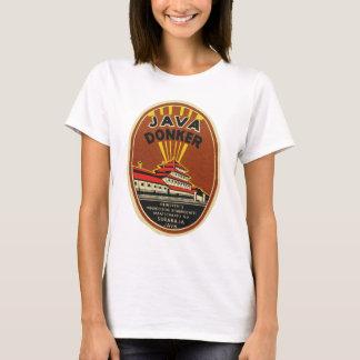 Java Donker vintage beer label T-Shirt