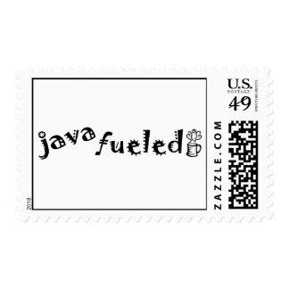 Java Fueled Postage Stamps