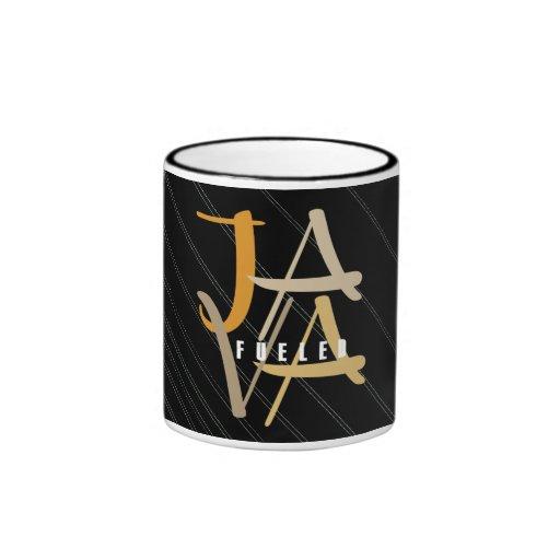 Java Fueled Ringer Mug