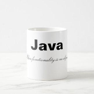 Java funny mug