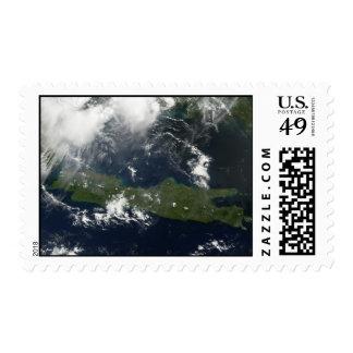Java, Indonesia Stamp