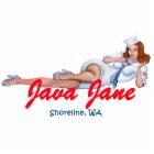 Java Jane Key Chain Statuette