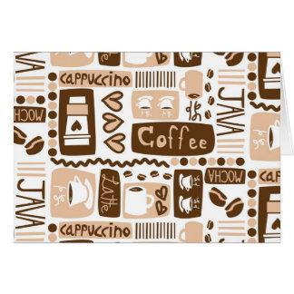 Java Java Java! Card