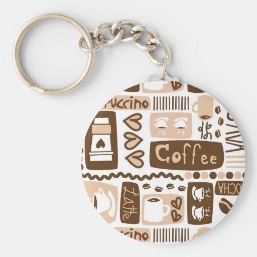 Java Java Java! Keychain