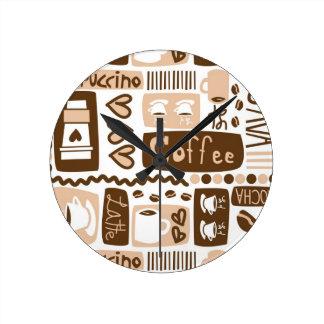 ¡Java Java Java! Relojes De Pared