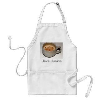 Java Junkie Adult Apron