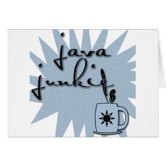 Java Junkie Card
