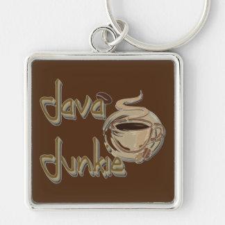 Java Junkie Coffee Lovers Key Chain