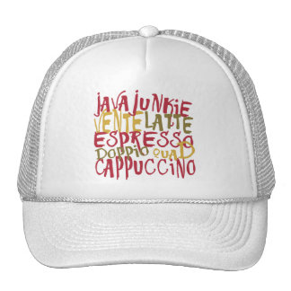 Java Junkie - Fun Coffee Lovers Gifts & Apparel Trucker Hat