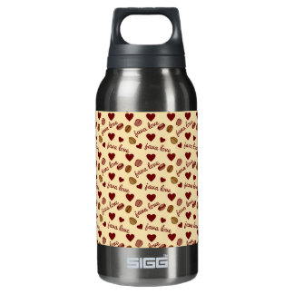 Java Love 10 Oz Insulated SIGG Thermos Water Bottle