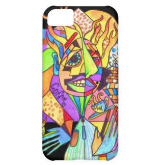 Java Man-Abstract Art- Cover For iPhone 5C