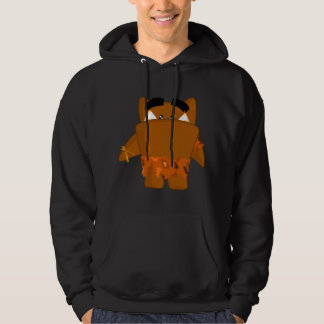 Java man monster hoodie