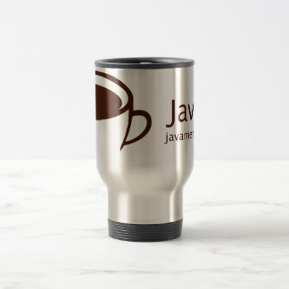 Java Me Red Travel Mug