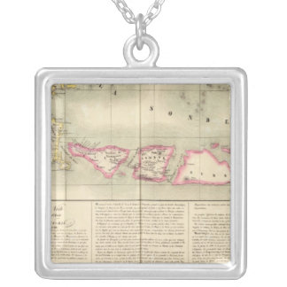 Java Oceania no 27 Silver Plated Necklace