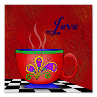 Java Poster