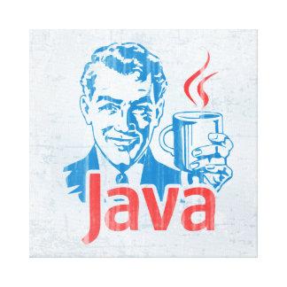 Java Programmer Canvas Print
