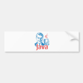 Java Programmer Gift Bumper Sticker