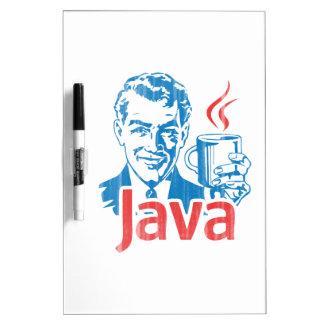 Java Programmer Gift Dry Erase Board