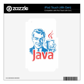 Java Programmer Gift iPod Touch 4G Decals