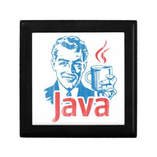 Java Programmer Gift Jewelry Box