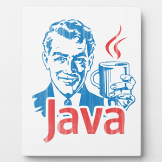 Java Programmer Gift Plaque